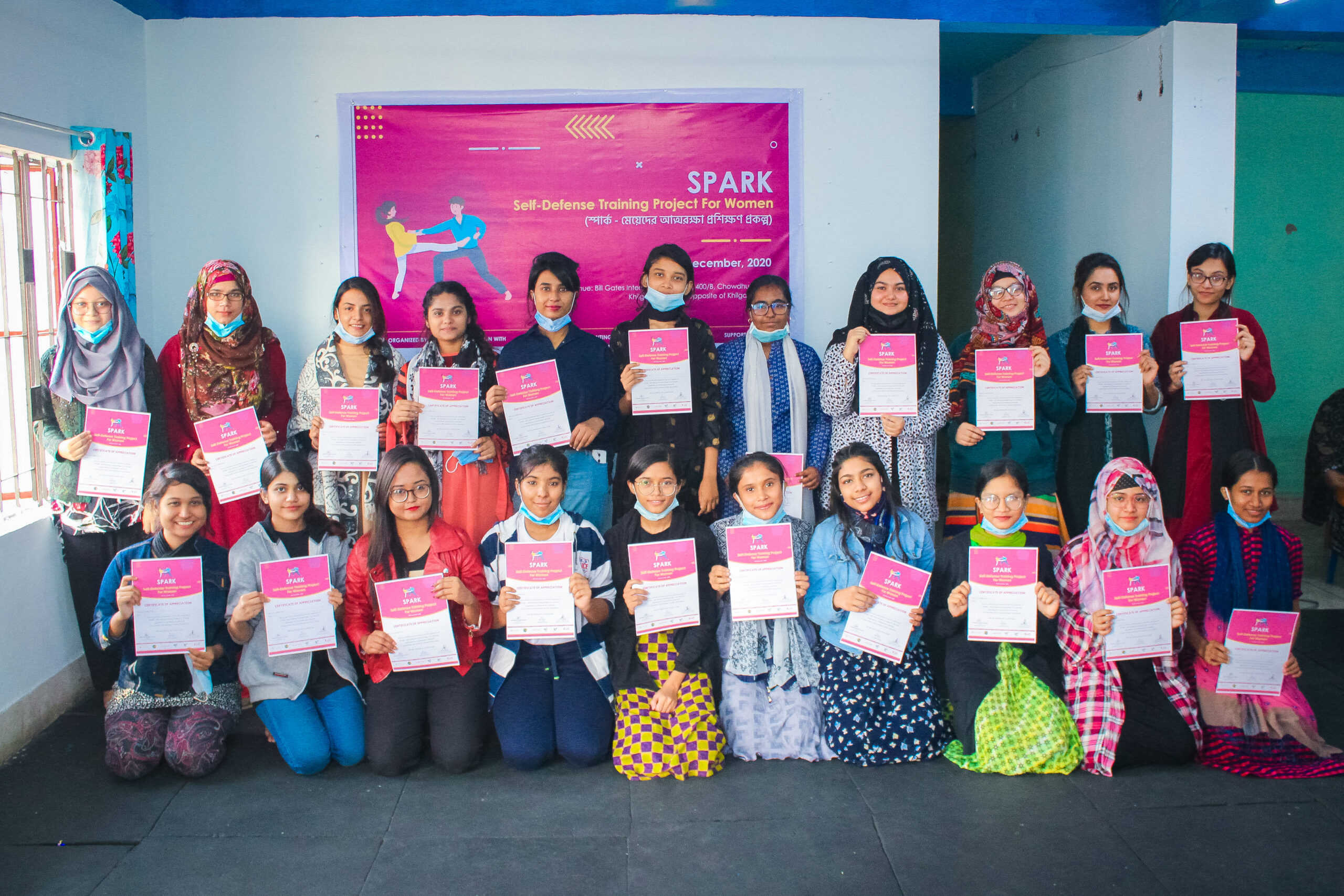 SPARK – A Self Defence Training for Women introduced by Youthpreneur Network